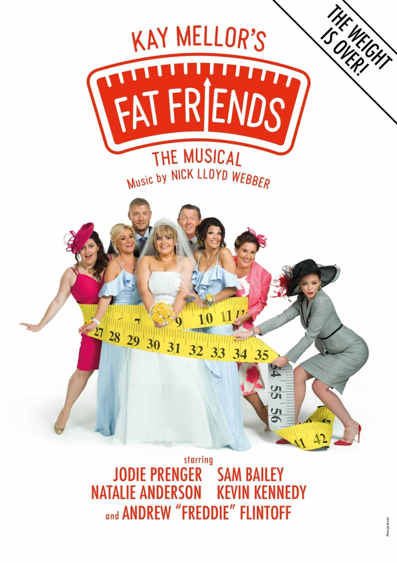Photo of Fat Friends – The Musical at the Orchard Theatre Dartford Review