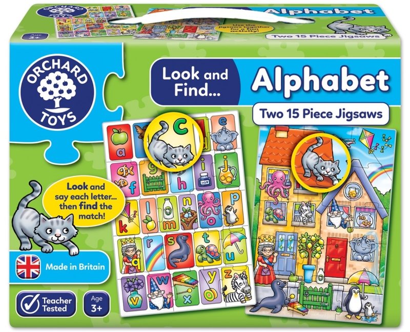 Photo of Orchard Toys Look and Find Alphabet Jigsaw Review