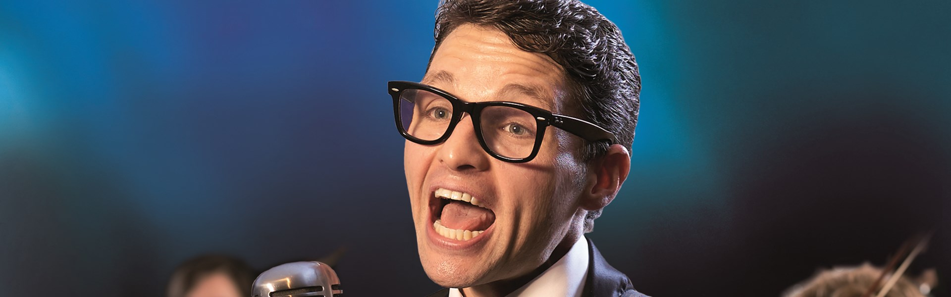 Photo of Buddy Holly and the Cricketers at the Lichfield Garrick Review