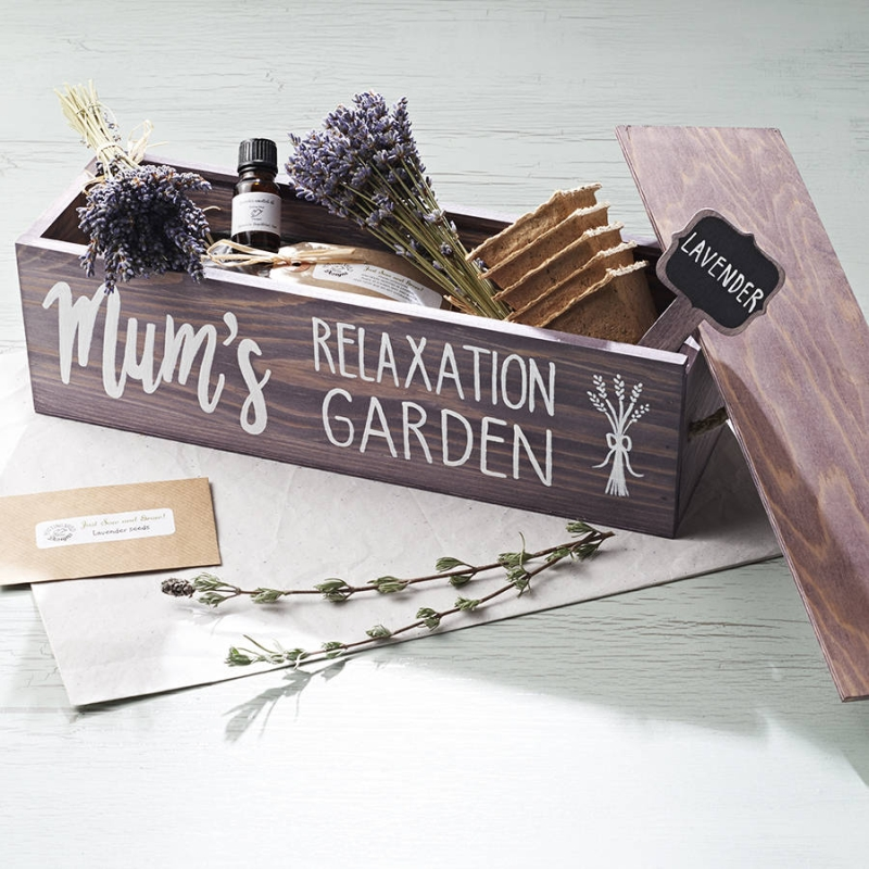 Photo of Personalised Lavender Garden Window Box Review