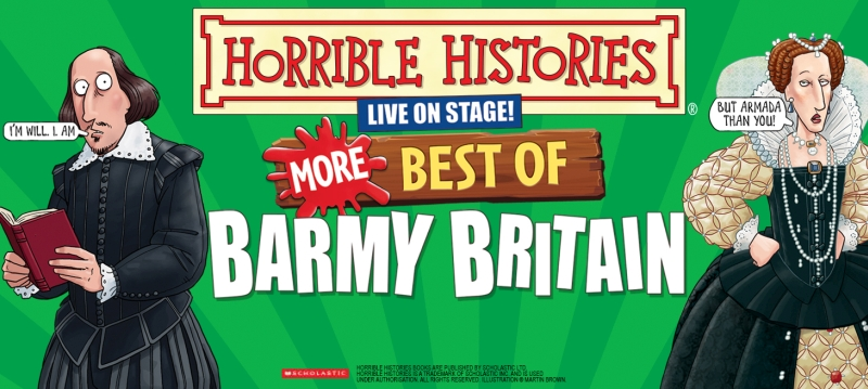 Photo of Horrible Histories – More Best of Barmy Britain at The Hawth Crawley Review