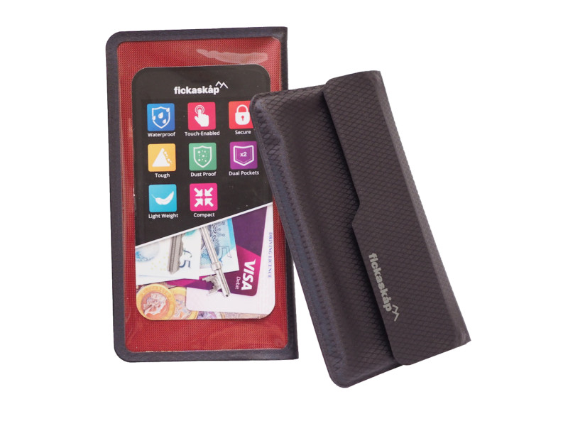 Photo of Fickaskap Waterproof Phone and Valuables Wallet Review