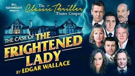 Photo of The Case of The Frightened Lady at Milton Keynes Theatre Review