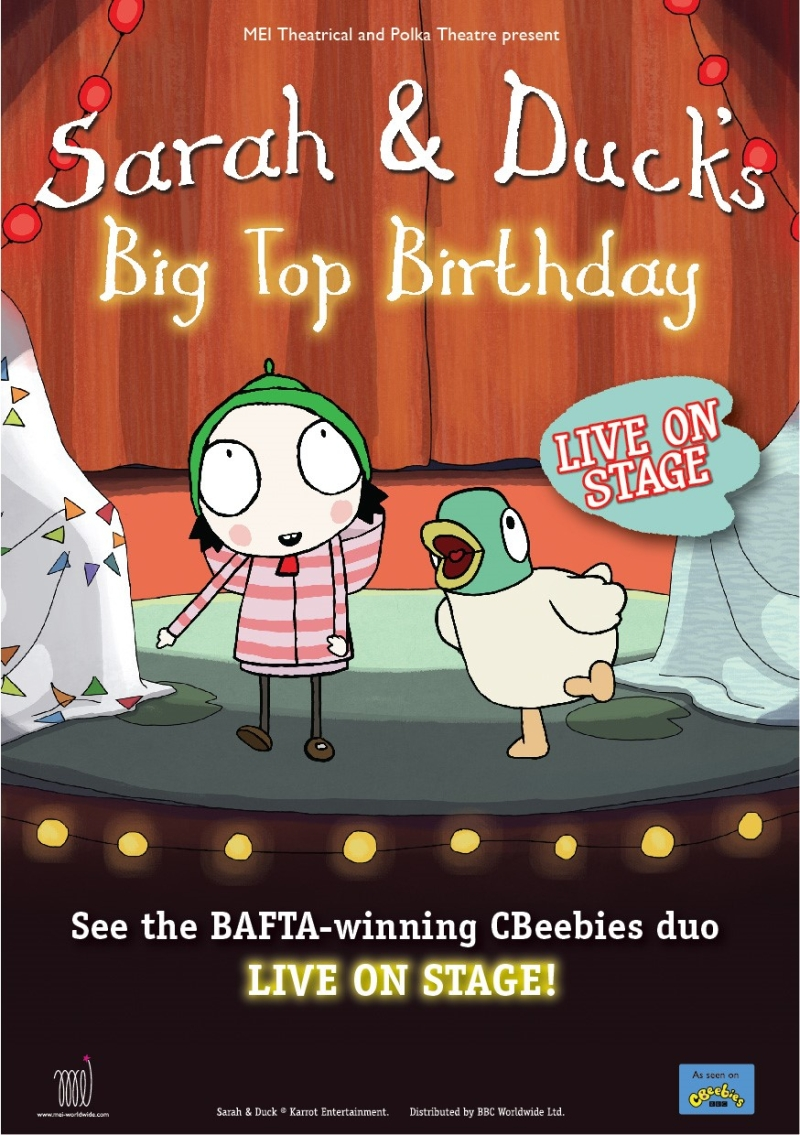 Photo of Sarah and Duck's Big Top Birthday at The Hawth Crawley Review