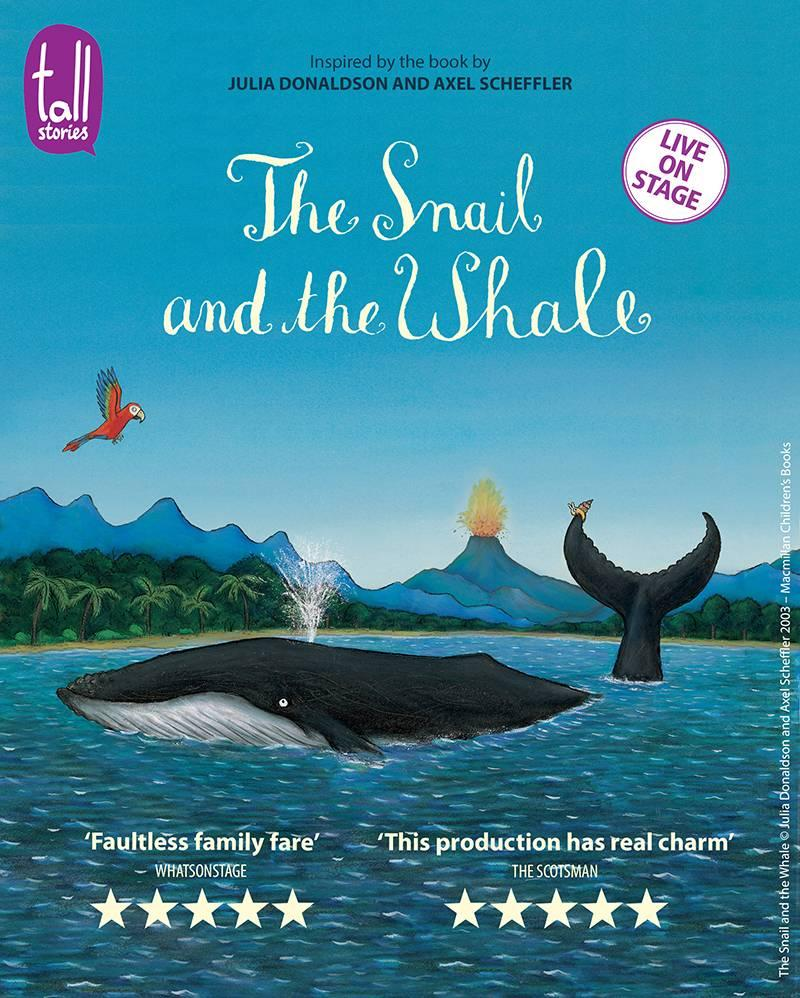 Photo of The Snail and the Whale at The Lowry Manchester Review