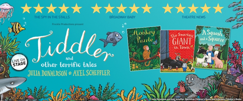Photo of Tiddler and Other Terrific Tales at The Hawth Crawley Review