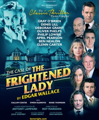 Photo of The Case of the Frightened Lady at the Belgrade Theatre Coventry Review