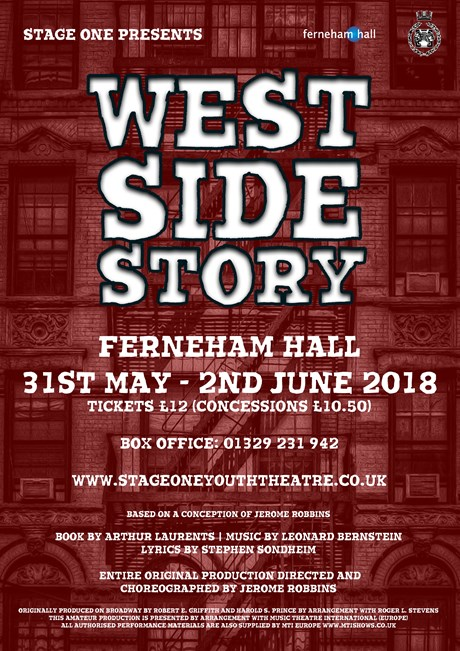 Photo of West Side Story at the Ferneham Hall Fareham Review