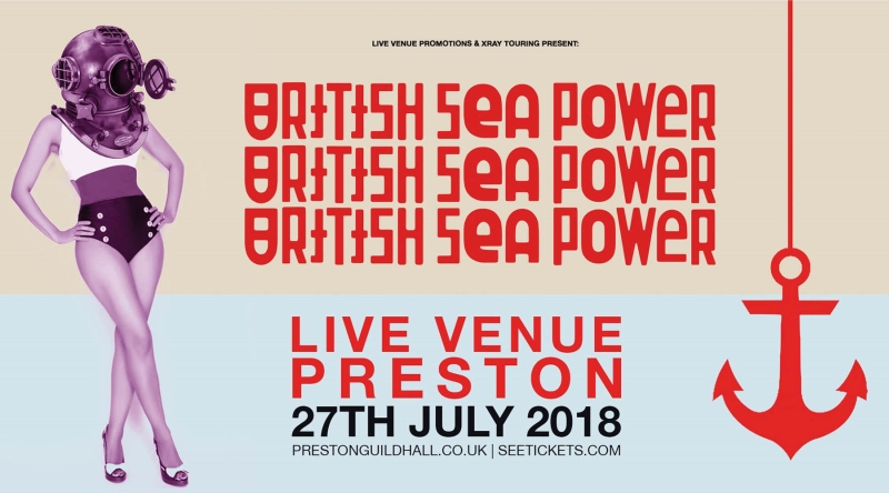 Photo of British Sea Power at the Preston Guild Hall Review