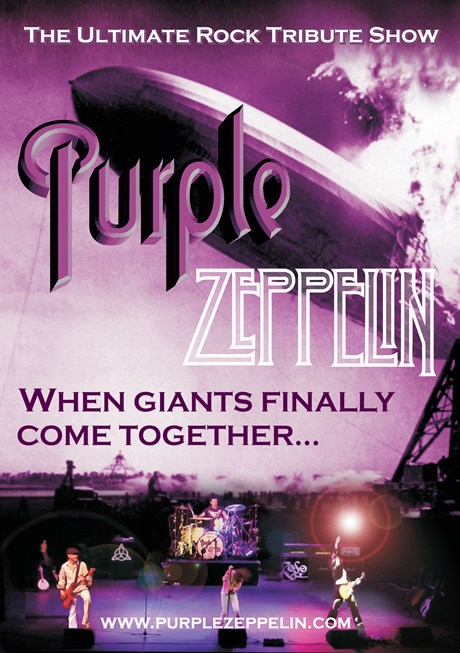 Photo of Purple Zeppelin at the Ferneham Hall Fareham Review