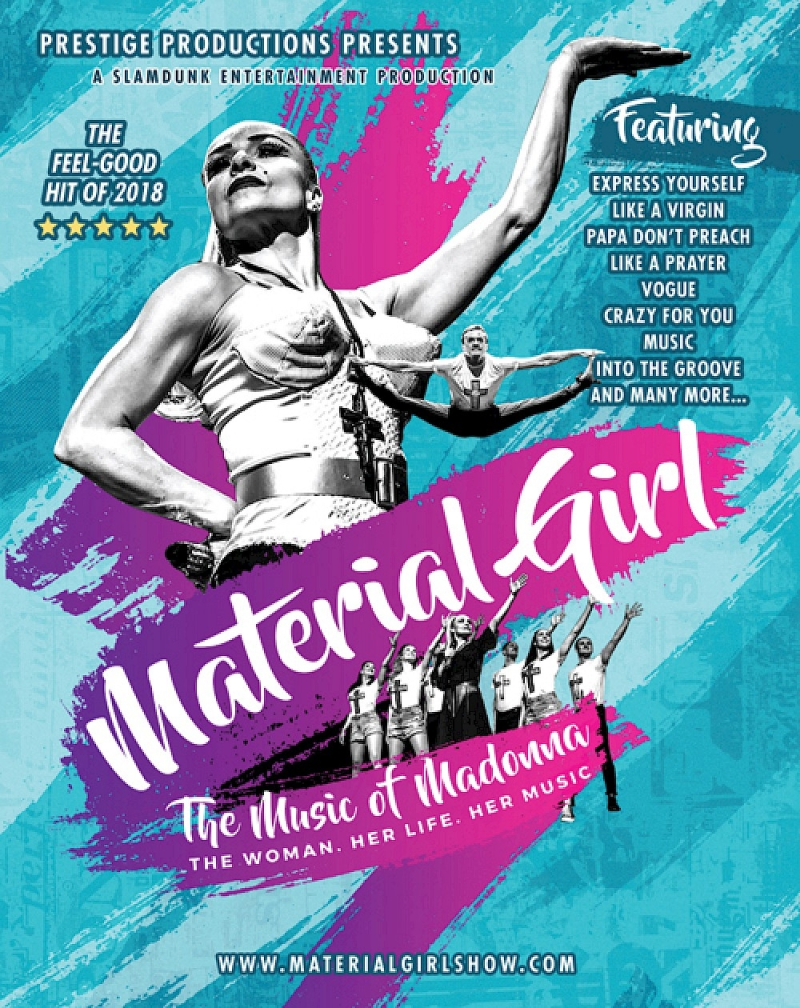 Photo of Material Girl – The Madonna Story at The Hawth Crawley Review