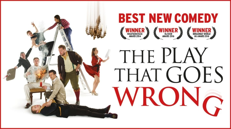 Photo of The Play That Goes Wrong at the Lyceum Theatre Sheffield Review