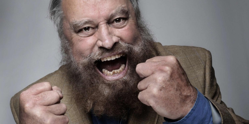Photo of An Evening with Brian Blessed at the Parr Hall Warrington Review