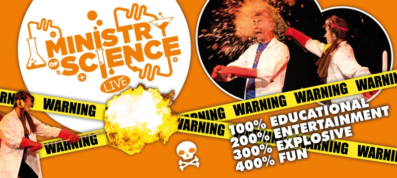 Photo of Ministry of Science Live at The Hawth Crawley Review