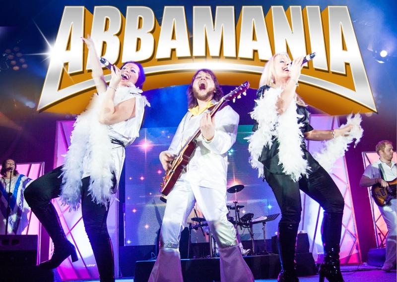 Photo of ABBAMANIA at The Hawth Crawley Review