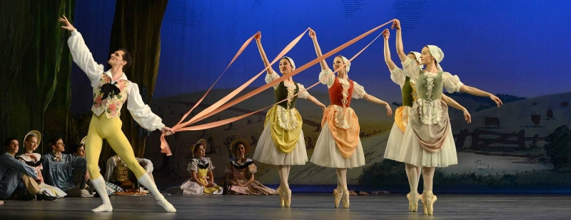 Photo of Birmingham Royal Ballet's La Fille Mal Gardee at The Lowry Manchester Review