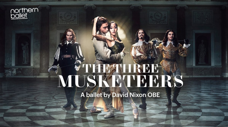 Photo of Northern Ballet's The Three Musketeers at the Lyceum Theatre Sheffield Review