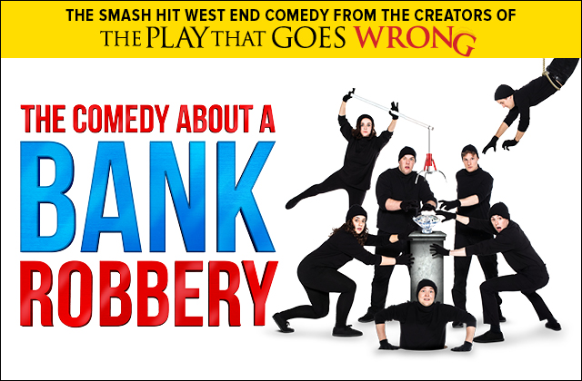 Photo of The Comedy about a Bank Robbery at the Lyceum Theatre Sheffield Review