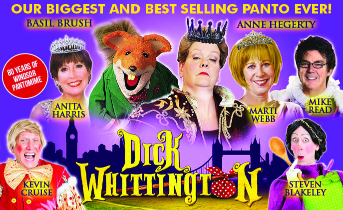 Photo of Dick Whittington at the Theatre Royal Windsor Review