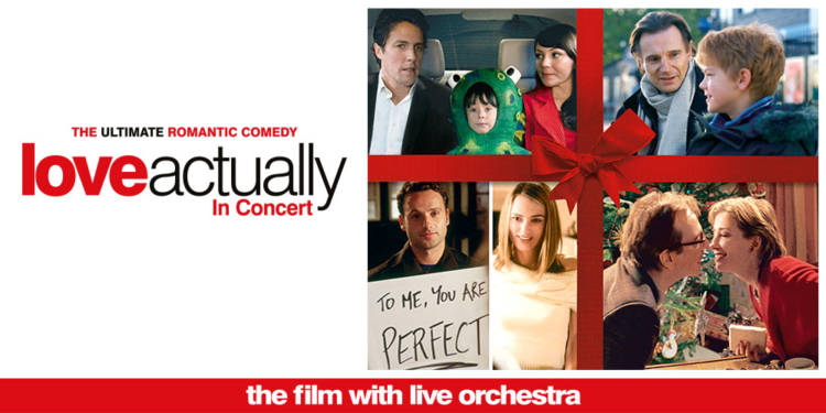 Photo of Love Actually in Concert at the Royal Concert Hall Nottingham Review