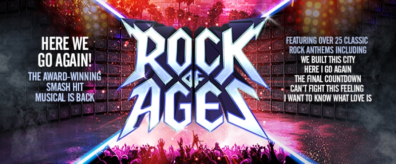 Photo of Rock of Ages at the Lyceum Theatre Sheffield Review
