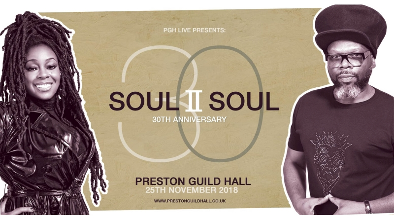 Photo of Soul II Soul at the Preston Guild Hall Review