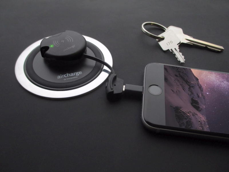 Photo of Aircharge Wireless Charging Keyring Receiver Review
