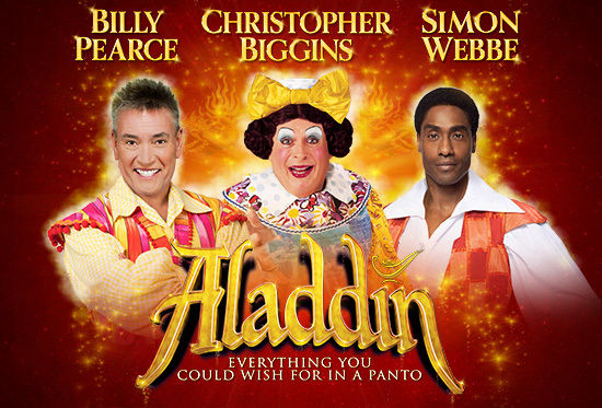 Photo of Aladdin 2018 at the Alhambra Theatre Bradford Review