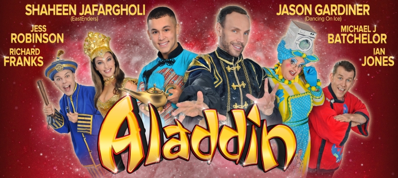 Photo of Aladdin at The Hawth Crawley Review