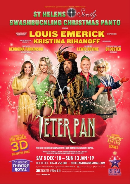Photo of Peter Pan at St. Helens Theatre Royal Review