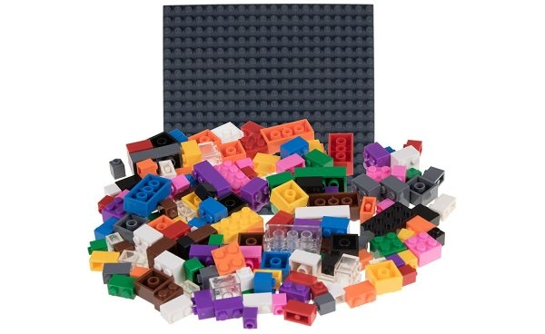 "Photo of Strictly Briks 6""x6"" Stackable Baseplates with 50 Stackers Review"