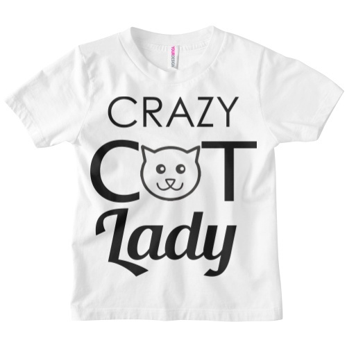 Photo of Your Design Crazy Cat Lady Tee Review