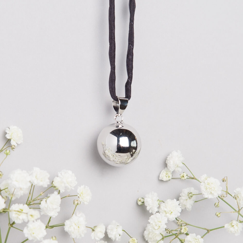 Photo of Blooming Lovely Mexican Bola Pendant Review
