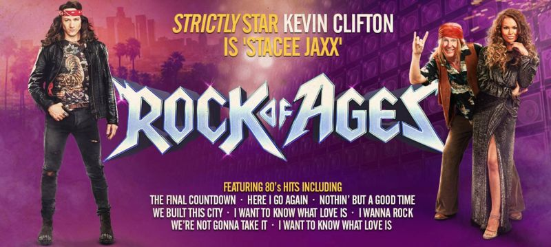 Photo of Rock of Ages at The Hawth Crawley Review