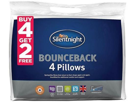 Photo of Silentnight Bounceback Pillows Review