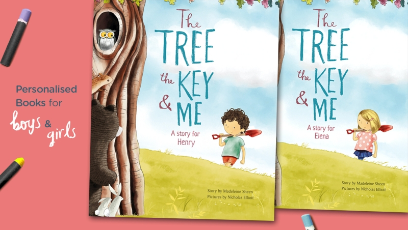 Photo of The Tree, The Key & Me Personalised Book Review