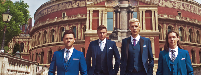 Photo of Collabro at the Royal Concert Hall Nottingham Review