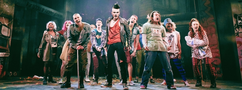 Photo of Green Day's American Idiot at Blackpool Opera House Review