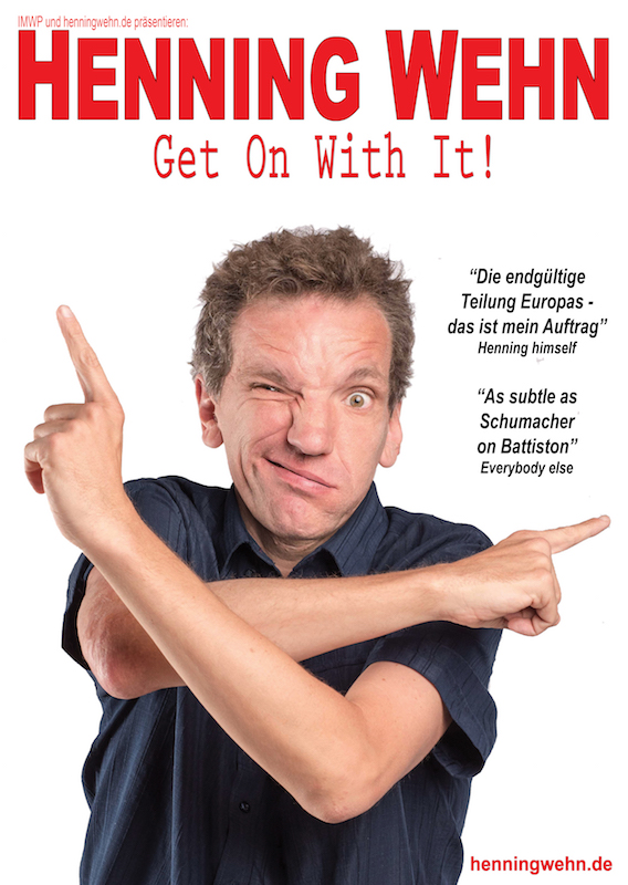 Photo of Henning Wehn: Get On With It at the Nottingham Playhouse Review