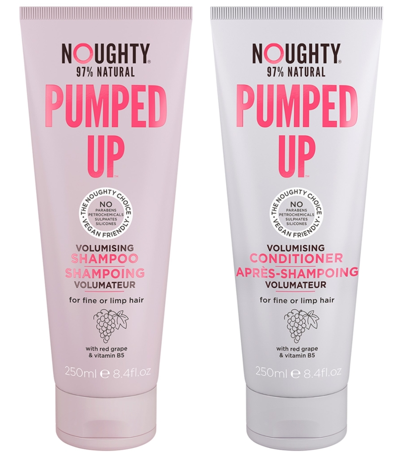 Photo of Noughty Pumped Up Shampoo and Conditioner Review