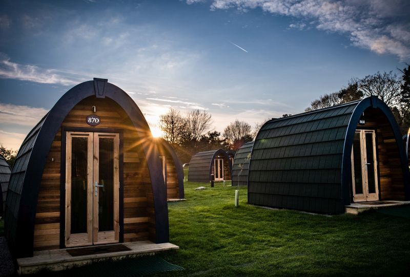 Photo of Alton Towers Stargazing Pods Review