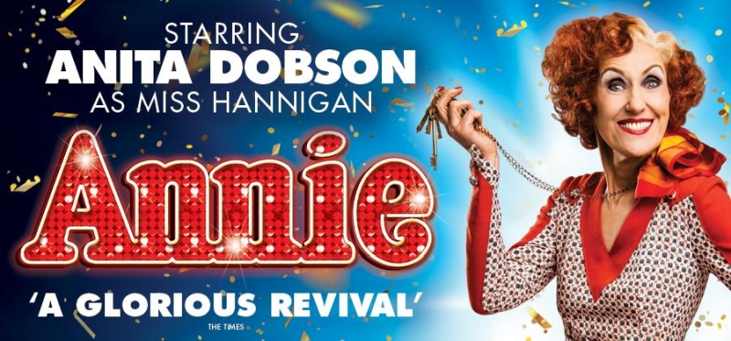 Photo of Annie at the Alhambra Theatre Bradford Review
