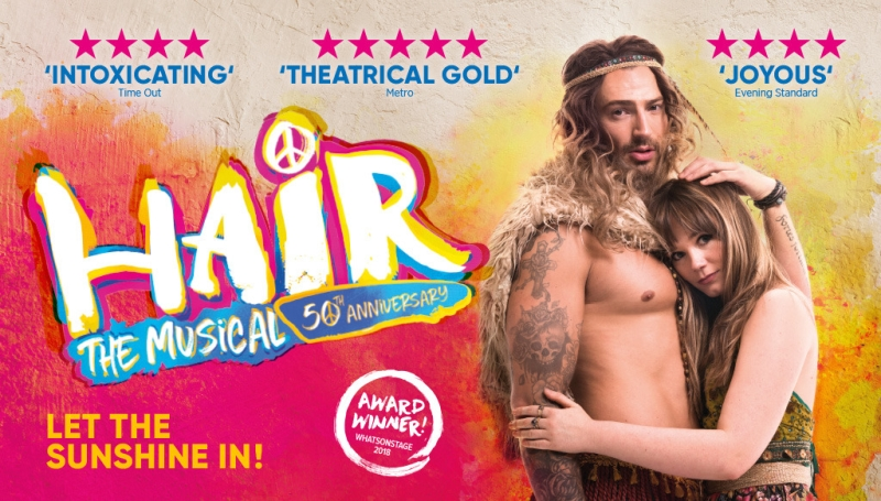 Photo of Hair The Musical at the Lyceum Theatre Sheffield Review