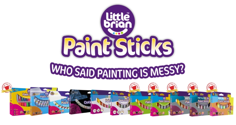 Photo of Little Brian Paint Sticks Review