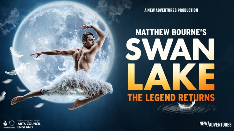 Photo of Matthew Bourne's Swan Lake at the New Victoria Theatre Woking Review