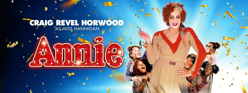 Photo of Annie at the Royal Concert Hall Nottingham Review