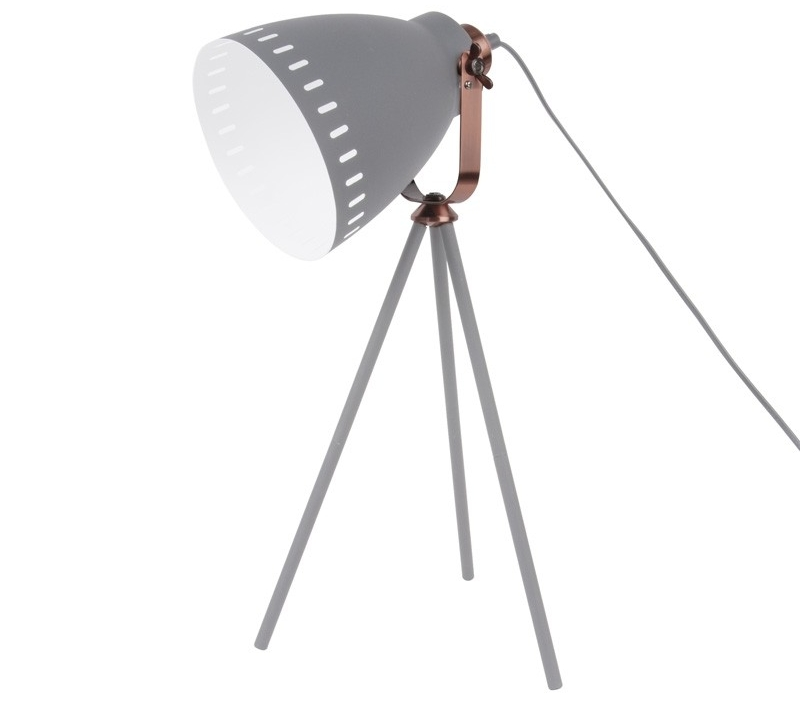 Photo of Red Candy Mingle Table Lamp – Grey Review
