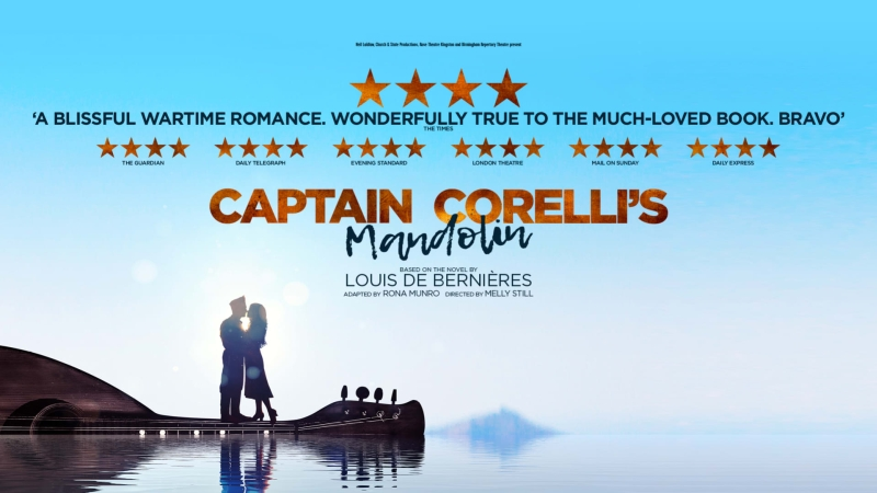 Photo of Captain Corelli's Mandolin at the Theatre Royal Glasgow Review
