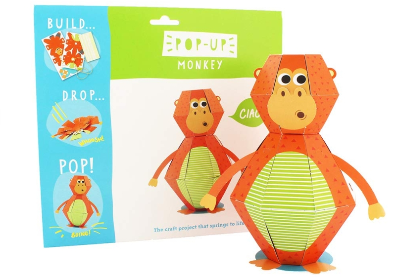 Photo of Hacche Paper Craft Pop Up 3D Monkey Review
