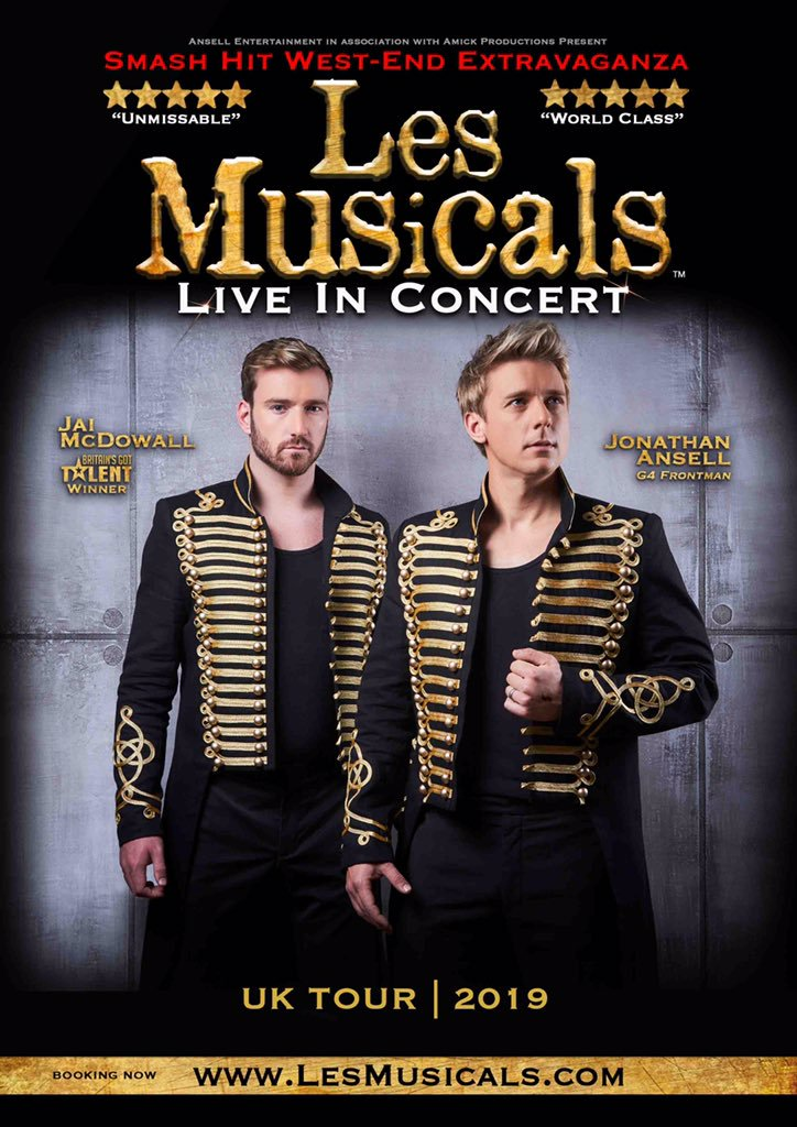 Photo of Les Musicals: Live Concert Tour at the Regent Theatre Stoke Review